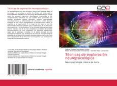 Bookcover of Técnicas de exploración neuropsicológica