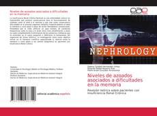 Bookcover of Niveles de azoados asociados a dificultades en la memoria