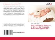 Portada del libro de Ventilación mecánica en la Unidad de Cuidados Intensivos Neonatales