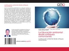 Capa do livro de La Educación ambiental desde enfoques comunitarios