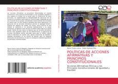 Обложка POLÍTICAS DE ACCIONES AFIRMATIVAS Y PRINCIPIOS CONSTITUCIONALES