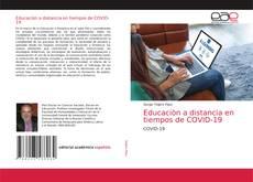 Bookcover of Educaciòn a distancia en tiempos de COVID-19