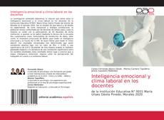Обложка Inteligencia emocional y clima laboral en los docentes