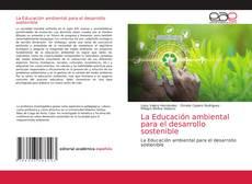 Capa do livro de La Educación ambiental para el desarrollo sostenible