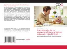 Обложка Importancia de la correcta alimentación en niños del nivel inicial