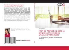 Обложка Plan de Marketing para la empresa Inversiones OLDA en Venezuela