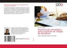 Обложка Planificación estratégica para la gestión de riesgos de desastres