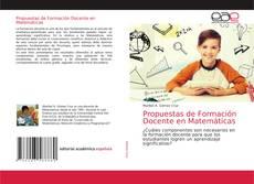 Borítókép a  Propuestas de Formación Docente en Matemáticas - hoz