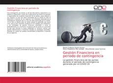 Buchcover von Gestión Financiera en periodo de contingencia