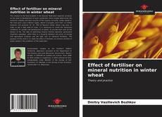 Bookcover of Effect of fertiliser on mineral nutrition in winter wheat
