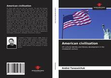 Bookcover of American civilisation