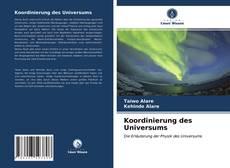 Capa do livro de Koordinierung des Universums