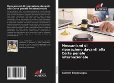 Copertina di Meccanismi di riparazione davanti alla Corte penale internazionale