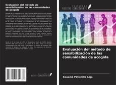 Portada del libro de Evaluación del método de sensibilización de las comunidades de acogida