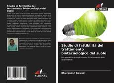 Copertina di Studio di fattibilità del trattamento biotecnologico del suolo