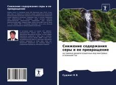 Buchcover von Снижение содержания серы и ее превращение