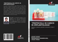 """Portada del libro de """"PROTOCOLLI DI CARICO IN IMPLANTOLOGIA"""""""