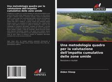 Bookcover of Una metodologia quadro per la valutazione dell'impatto cumulativo delle zone umide