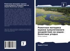 Bookcover of Рамочная методика оценки кумулятивного воздействия на водно-болотные угодья