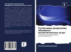 Bookcover of Устойчивое разделение обширных вычислительных услуг