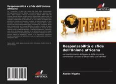 Responsabilità e sfide dell'Unione africana kitap kapağı