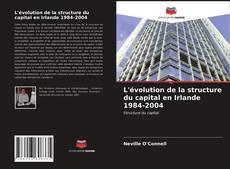 Capa do livro de L'évolution de la structure du capital en Irlande 1984-2004