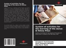 Portada del libro de System of activities for the learning of the dance El Ritmo Pilon