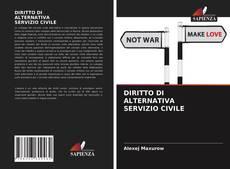 Capa do livro de DIRITTO DI ALTERNATIVA SERVIZIO CIVILE
