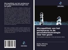 Copertina di Micropolitiek van het werkproces in de gezondheidsstrategie voor het gezin