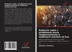 Portada del libro de Radzenie sobie z problemem burzy rozgłoszeniowej w mobilnych sieciach ad hoc