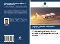 Bookcover of Arbeitsmigration aus Sri Lanka in den Nahen Osten