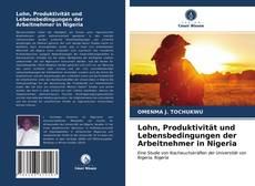 Buchcover von Lohn, Produktivität und Lebensbedingungen der Arbeitnehmer in Nigeria