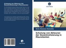 Copertina di Schulung von Akteuren der Dezentralisierung in Mauretanien