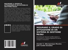 Portada del libro de MISURARE IL GRADO DI ATTUAZIONE DI UN SISTEMA DI GESTIONE R&S&I