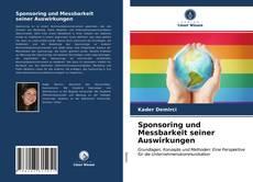 Bookcover of Sponsoring und Messbarkeit seiner Auswirkungen