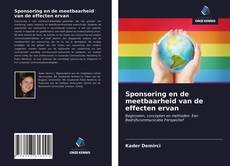 Bookcover of Sponsoring en de meetbaarheid van de effecten ervan