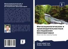 Фитосоциологические и производительностные исследования Шанкарачарьи的封面