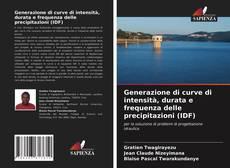 Обложка Generazione di curve di intensità, durata e frequenza delle precipitazioni (IDF)