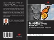 Portada del libro de PSYCHOMETRIC PROPERTIES OF THE NEUROPSI TEST