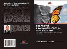 Bookcover of PROPRIÉTÉS PSYCHOMÉTRIQUES DU TEST NEUROPSI