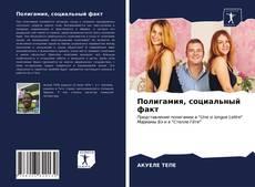 Capa do livro de Полигамия, социальный факт