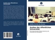 Buchcover von Ausbau der öffentlichen Universität