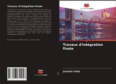 Travaux d'intégration finale kitap kapağı