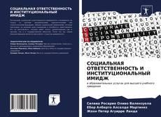 Capa do livro de СОЦИАЛЬНАЯ ОТВЕТСТВЕННОСТЬ И ИНСТИТУЦИОНАЛЬНЫЙ ИМИДЖ