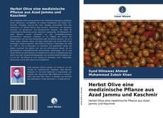 Buchcover von Herbst Olive eine medizinische Pflanze aus Azad Jammu und Kaschmir