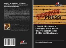 Libertà di stampa e sicurezza dello Stato: Una valutazione del diritto costituzionale的封面