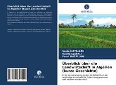Bookcover of Überblick über die Landwirtschaft in Algerien (kurze Geschichte)