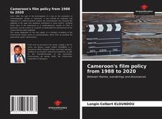 Copertina di Cameroon's film policy from 1988 to 2020
