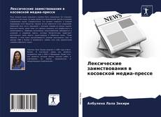 Лексические заимствования в косовской медиа-прессе的封面