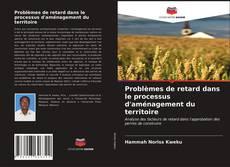 Обложка Problèmes de retard dans le processus d'aménagement du territoire